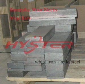 Abrasive Resistance Cast Iron Wear Block pictures & photos