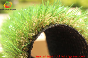 Classical 4 Colors Landscaping Artificial Grass Carpet for Garden pictures & photos