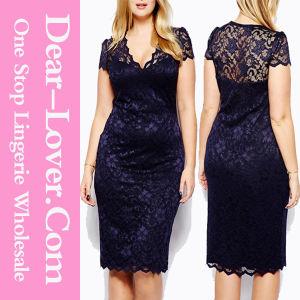 Wholesale Sexy Women Clothing Plus Size Dress pictures & photos