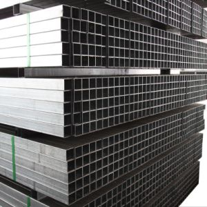 BS1387 Hollow Sections /Square Hollow Box Section /Pre Galvanized Square Steel Pipe Steel Hollow Tube for Building pictures & photos
