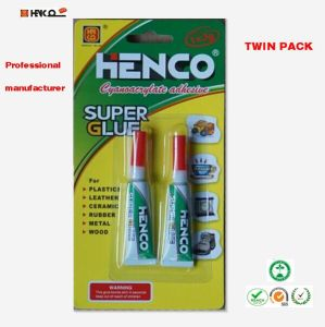 Quick Set Twin Pack Instant Super Glue 3G pictures & photos