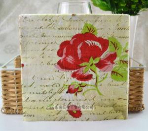 Printed Wood Pulp Paper Napkin Party Napkin Serviette