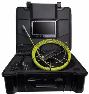 HD Monitor Pipe Inspection Camera System with 1-100m Fiberglass Cable pictures & photos