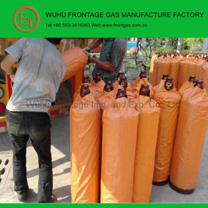 Industrial Grade Steel Cylinder Acetylene (C2H2) pictures & photos