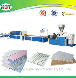 PVC Plastic Wall Panel Extrusion Production Line pictures & photos