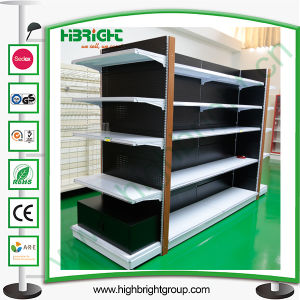 Supermarket Double Sided Shelf Gondola with Layers pictures & photos