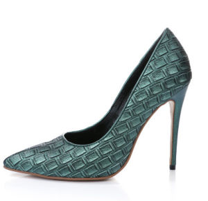 Sexy Pointed Toe High Heel Women Shoes (HC 038) pictures & photos