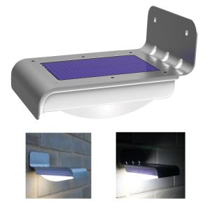 1W Solar LED Garden Street Lights with PIR Sensor