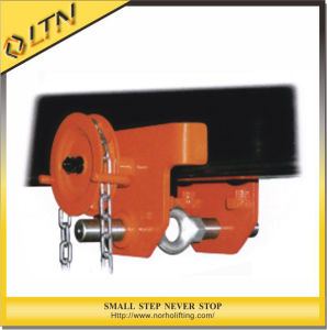 0.5-5t Hoist with Monorail Trolley/Geared Beam Trolleys Clamp pictures & photos