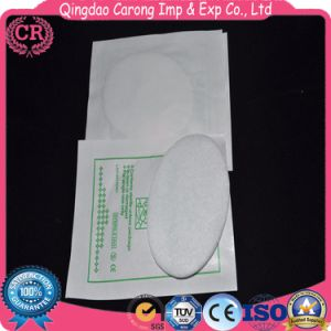 Disposable Soft Cotton Oval Eye Pad pictures & photos
