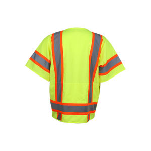Class 3 ANSI High Visibility Reflective Safety Vest pictures & photos