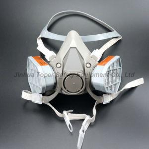 Double Cartridge Chemical Respirator Gas Mask Respirator (CR6200) pictures & photos