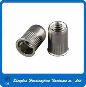 Countersunk Head Knurled Body Stainless Steel Rivet Nuts pictures & photos