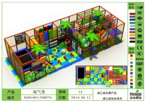 Kaiqi Medium Sized Indoor Soft Play Playground - Available in Many Colours (KQ20140611-TQBH75A) pictures & photos