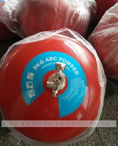 9kg Auto Round DCP Fire Extinguisher pictures & photos