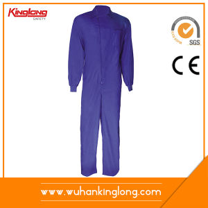 80% Cotton 20% Polyester Twill Fabric Mechanic Workwear Coverall
