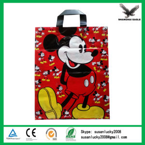 Give Away Brand Printed Plastic Carrier Bags pictures & photos