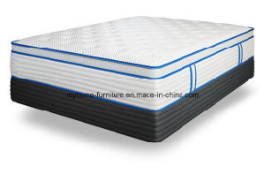 Bedroom Furniture Type Double Pocket Coil Spring Mattress pictures & photos