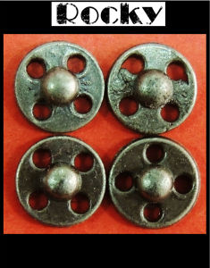 Special Design Alloy Button for Fashion Garment
