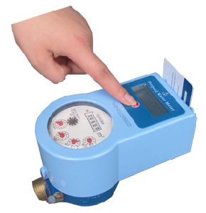 Prepaid Hot Water Meter (touchless, domestic use)