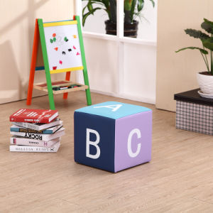 Kids Nursery Furniture Square Children Stool (SXBB-251) pictures & photos