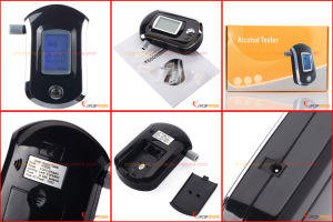 Keychain Digital Breathalyzer, Alcosense, Alcohol Test Paper pictures & photos