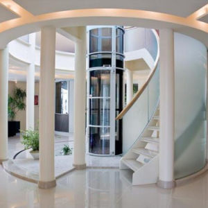 China cheap machine room indoor residential home elevator for Cheap home elevators