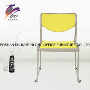 Leisure Office Furniture Sliding Plastic Chair with Caster pictures & photos