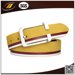 Top Quality Colorful Fashionable Real Leather Belt (HJ1123)