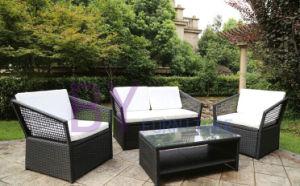 Modern 4 Pieces Outdoor Garden PE Rattan Furniture pictures & photos