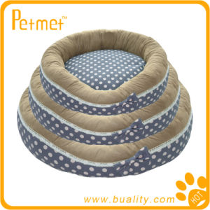 Printed Oblong Pet Bed with Removable Cushion (PT13101)
