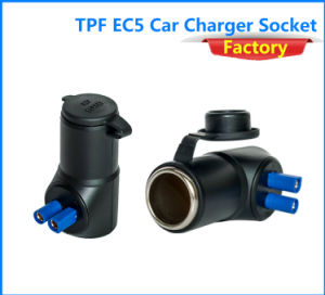 Tpf Mini Portable Car Charger Adapter Ec5 Connector Adaptor