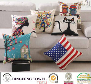 2016 Hot Sales New Design Digital Printed Cushion Cover Df-9812 pictures & photos
