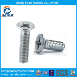 High Quality Stainless Steel DIN965 Phillips Countersunk Head Screw pictures & photos