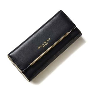 Factory Wholesale Women Fashion Leather Wallet Leisure Purse Bag (XQ0701) pictures & photos