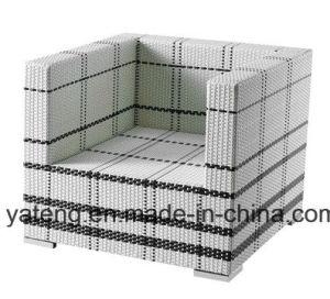 Luxury Leisure Garden Sofa Patio Mixxing Color Rattan Sofa Outdoor Sofa (YT369) with Outoor Umbrella pictures & photos