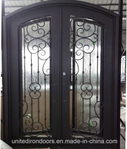 High Quality Wrought Iron Entry Door From China (UID-D034) pictures & photos