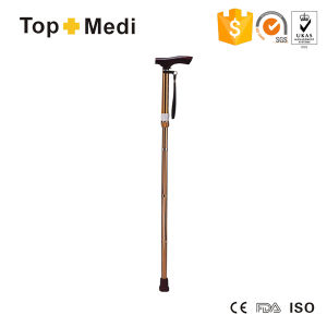 Topmedi Rehabilitation Therapy Supplies Foldable Height-Adjustable Aluminum Canes pictures & photos