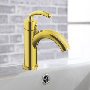 New Arrival High Quality Royal Design Golden Faucet for Washroom pictures & photos