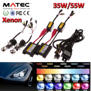 Car Accesssories Slim Canbus H1 H3 H4 H7 H8 H119004 9005 9006 9007 35W 55W 75W 100W Xenon HID Kit pictures & photos