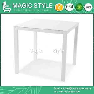 Aluminum Square Table Outdoor Dining Table Modern Dining Table (Magic Style) pictures & photos