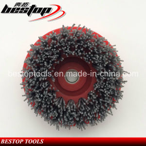 M14 Connection 110mm Round Diamond Abrasive Brush for Granite pictures & photos