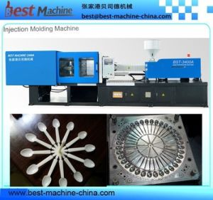 Servo Energy Saving Injection Molding Machine for Household Disposable Palstic Cutlery pictures & photos