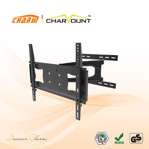Aluminum LED LCD Flat Panel TV Wall Mount for 26-55 Inch Screens (CT-WPLB-1901) pictures & photos