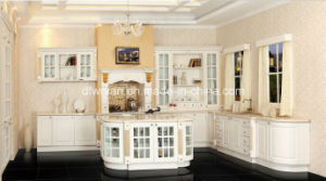 Morden Kitchen Furniture/ PVC Kitchen Cabinet pictures & photos