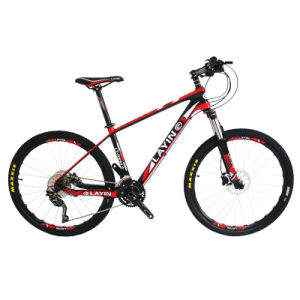 High Quality 30-Speed Carbon Fiber Mountain Bike with Shimano Parts pictures & photos