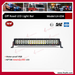 120W off Road Working Light Bar (LH034) pictures & photos