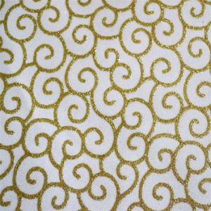 3D Glitter Non-Woven Wallpaper for KTV Wall Decoration (JSL161-016)