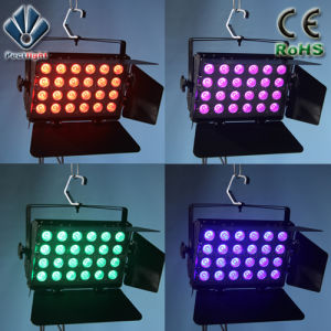 24X10W RGBW 4in1 LED Wall Wash Light pictures & photos