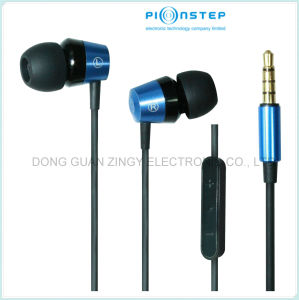 Fashion Metal Stereo Earphone for Mobile Phone